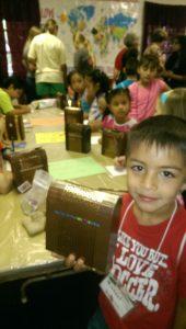 Children's camp crafts
