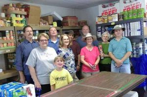 Volunteers at Food Pantry