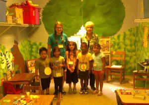 ESL Children and Volunteers