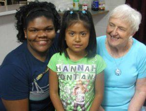 ESL Volunteers and Child